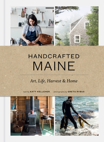 Featured in Handcrafted Maine - Amid the sublime beauty of Maine---its primordial forests, remote lakes, rugged mountains, and craggy coastline blooms a handmade culture fed by heritage, self-sufficiency, and collaboration. Handcrafted Maine: Art, Life, Harvest & Home features lively profiles of more than twenty artists, artisans, and craftspeople---weavers and potters, a painter, an architect, a boatbuilder, a leatherworker, bakers, lobster-men, and more at work in the woods, towns, and cities of Maine, celebrating the triumphs and challenges of entrepreneurship and independence. Including more than 225 inspiring color photographs and intimate narrative portraits, Handcrafted Maine provides a window into the inner lives of creatives and brings to life the powerful environment and spirited character that nurture the unbridled ingenuity and common-sense approach to craft and life found Down East.