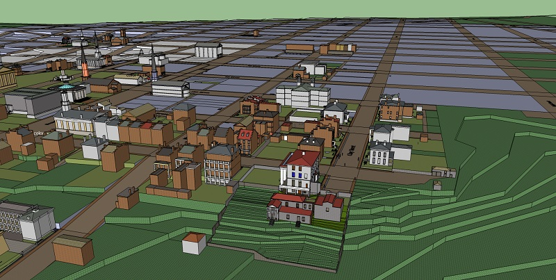 The Mutual Assurance Society policies were among the indispensable sources for the virtual 3-D map of wartime Richmond created by former Museum staff member Eric App.