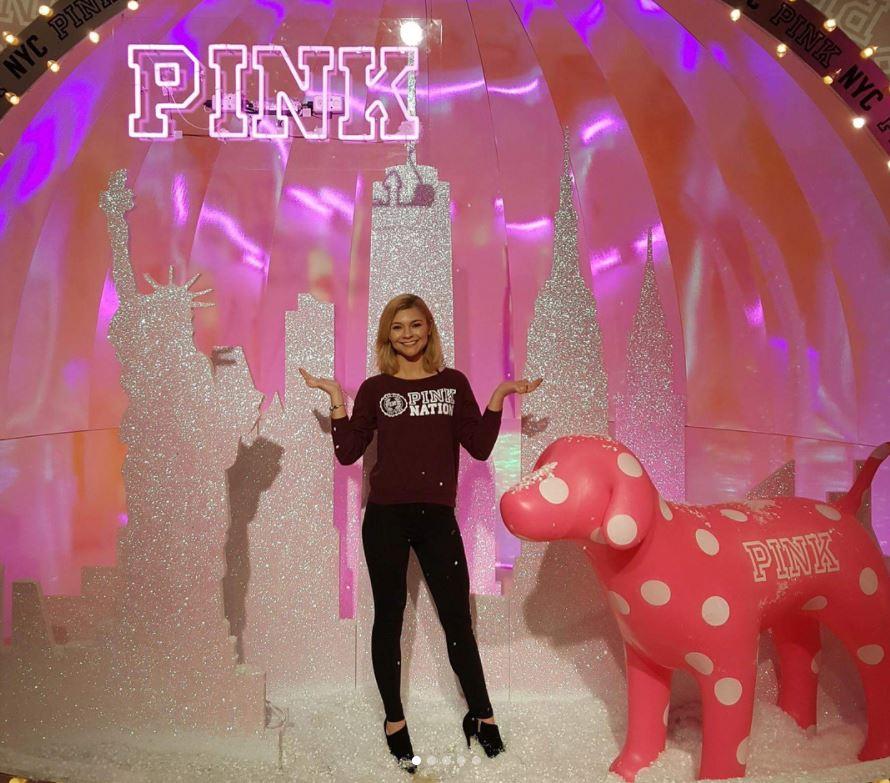 Every PINK girl's dream 😍😍😍 #pinkpopup #pinkpopupstore#pinksnowedinn -