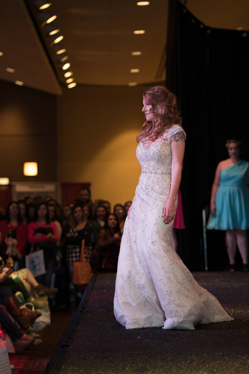 bridal gown easy to pack
