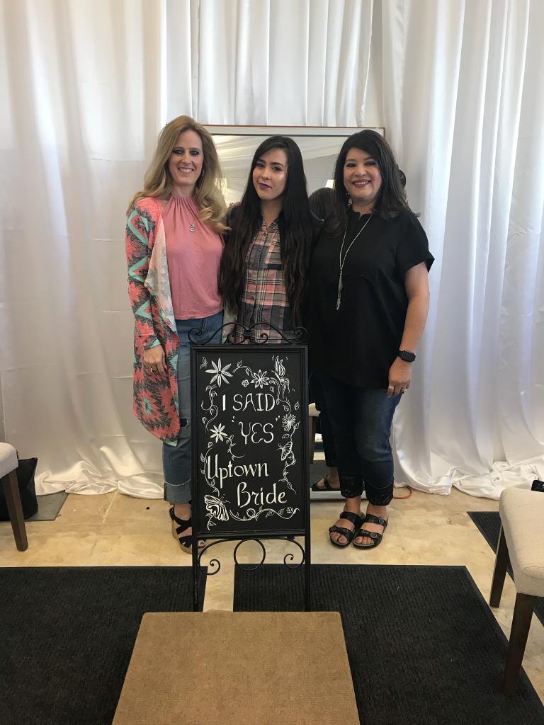 happy brides at our bridal salon
