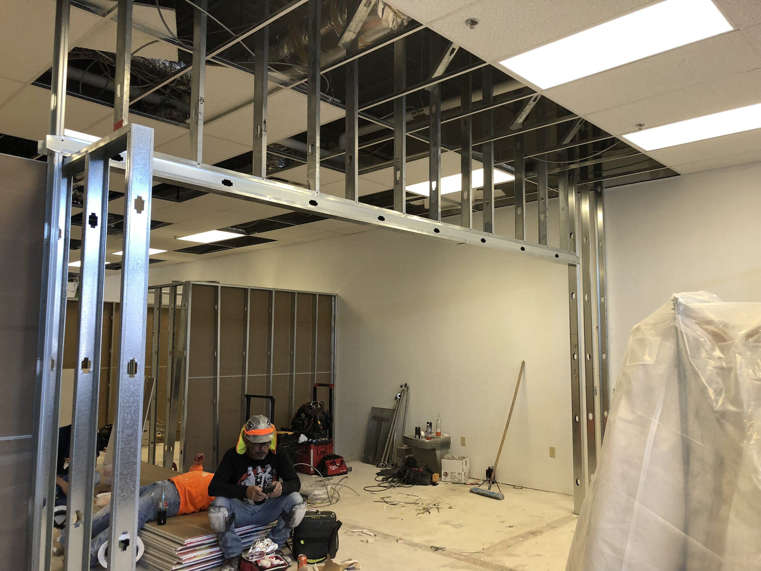building our Albuquerque bridal salon