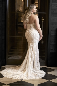 Sincerity by Justin Alexander gowns for full-figured women