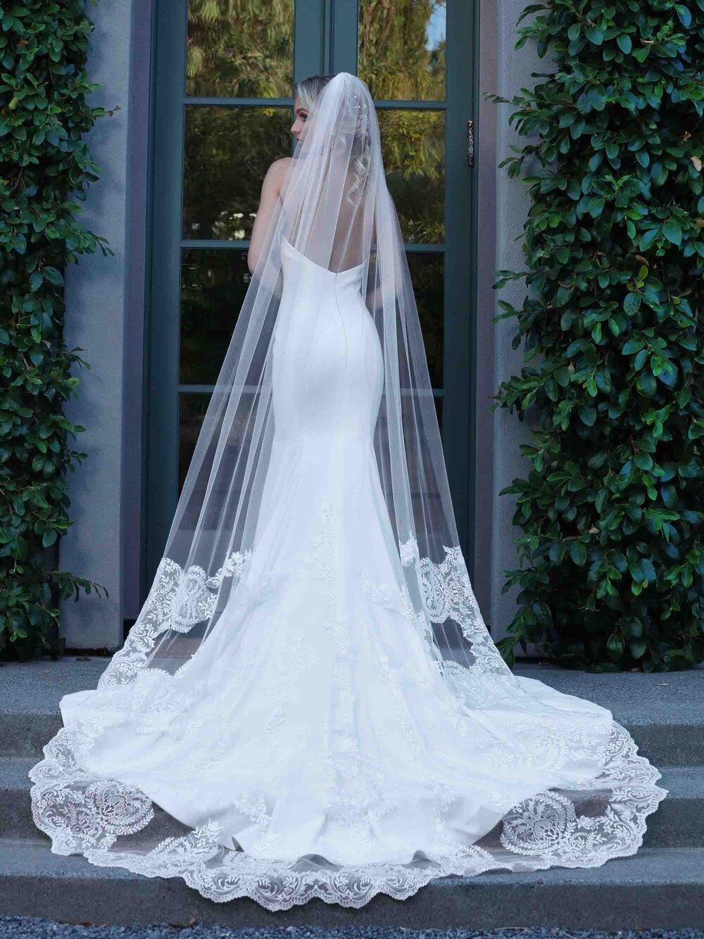 Wedding Veils — Uptown Bride