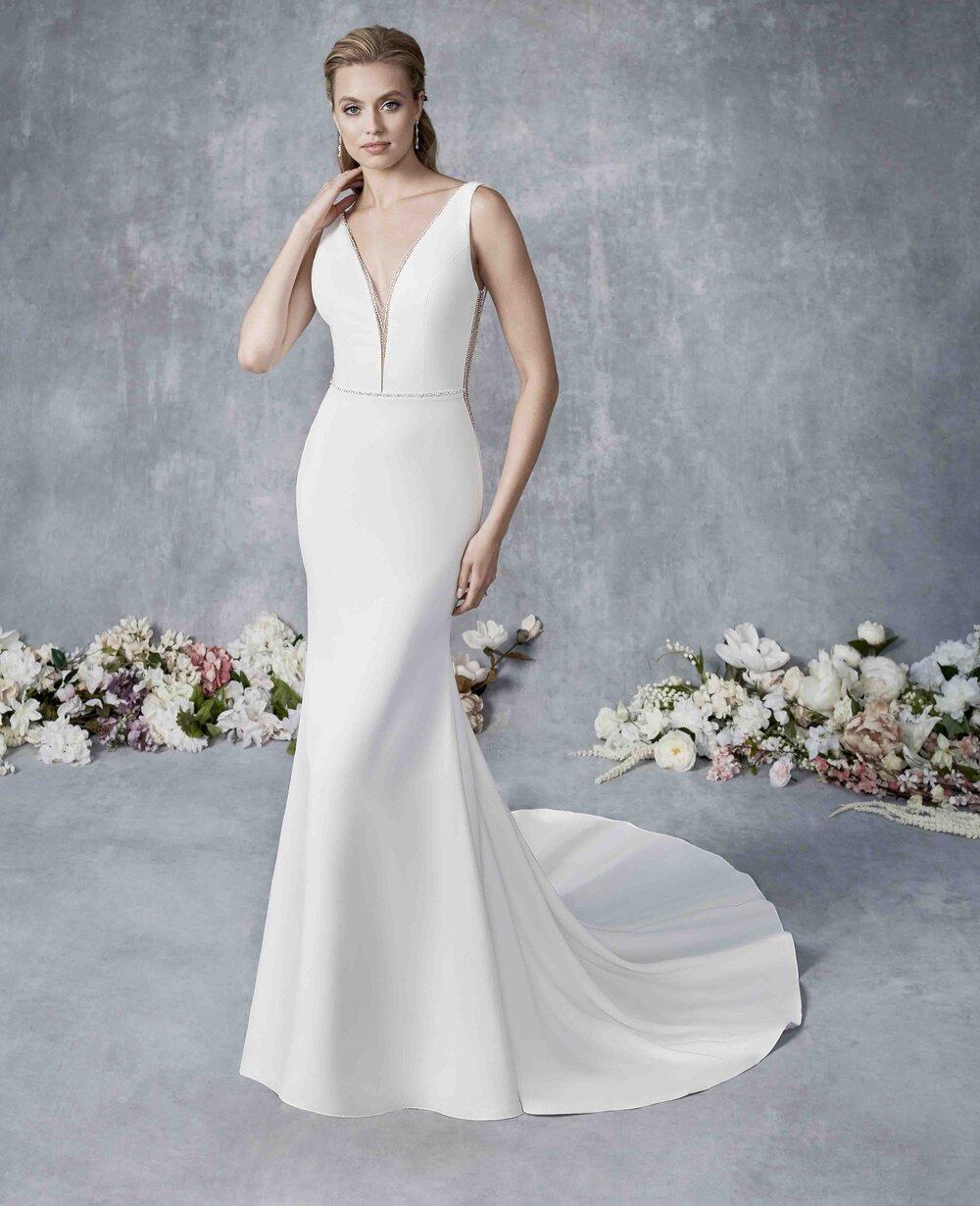 Sheath Wedding Gowns — Uptown Bride