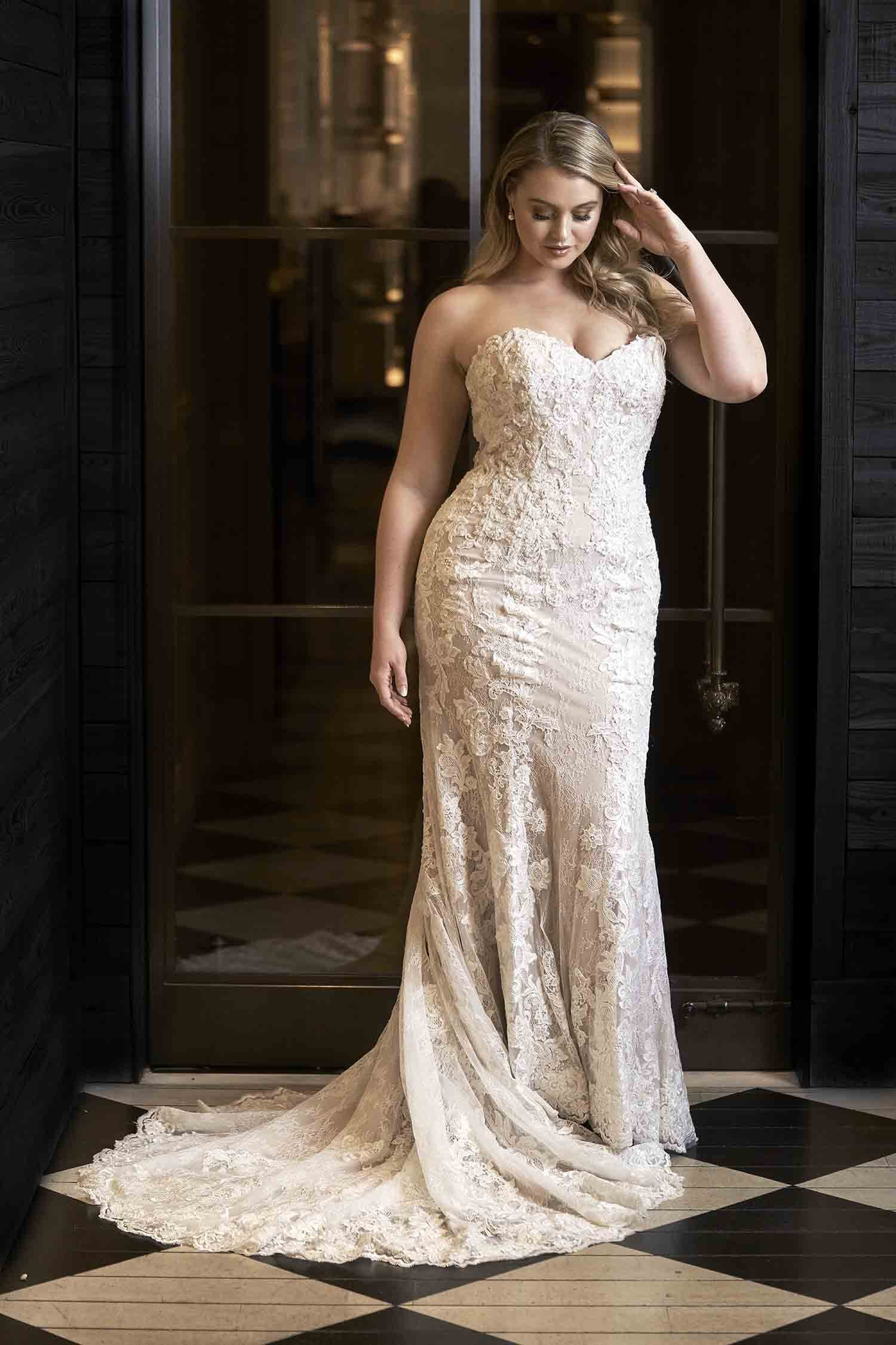 Plus Sized Wedding Gowns Uptown Bride