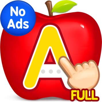 ABC Kids - ABC Kids is a phonics and alphabet teaching app that makes learning fun for children, from toddlers all the way to preschoolers and kindergartners. It features a series of tracing games to help kids recognize letter shapes, associate them with phonic sounds, and put their alphabet knowledge to use in fun matching exercises. ABC Kids is more than just a kid-friendly educational app, it was designed with adult participation in mind, too. The interface keeps toddlers focused on alphabet reading and writing, tucking menu commands away from moving fingers.