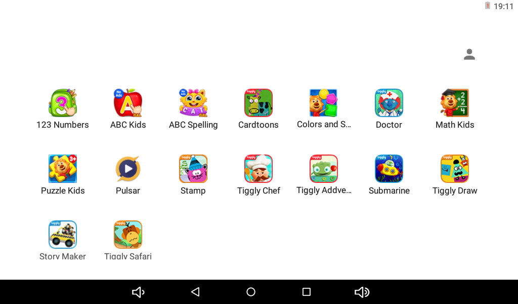 Seedling Apps - Each Seedling comes with 16 specially curated apps that are designed to enhance your child's logic and reading skills. This page contains a brief overview of each of the apps that comes with the Seedling.