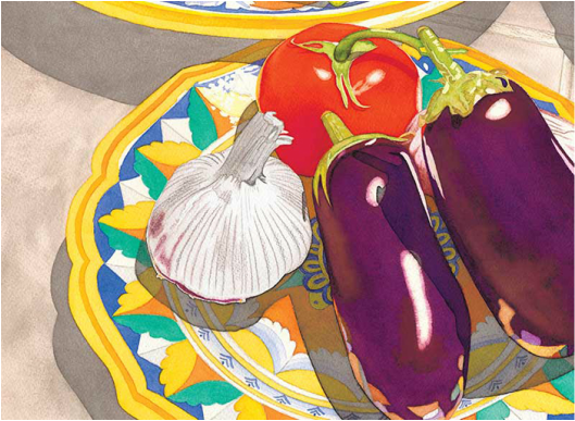 Eggplant image by Sally Baker