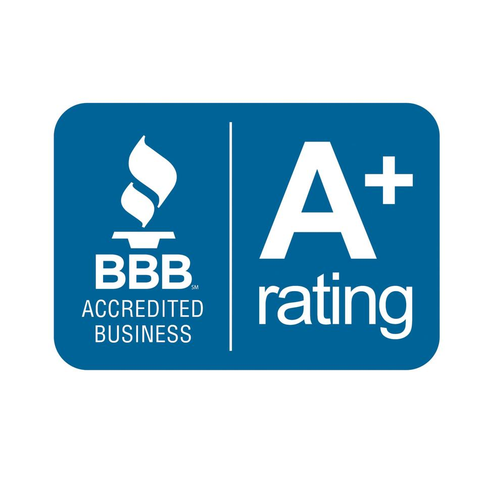 BBB Accredited Business (A+ Rating)
