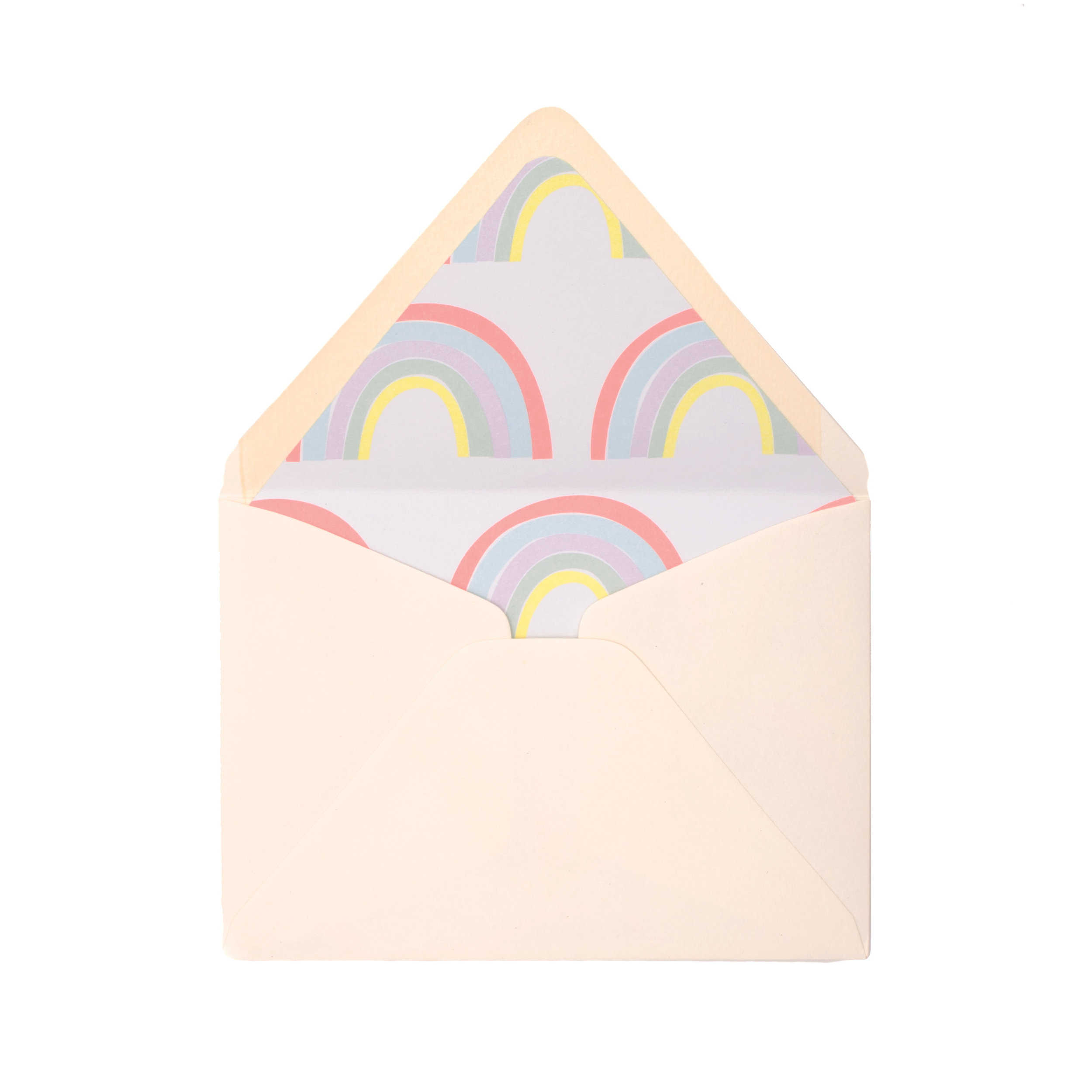 Hand Lined Envelopes