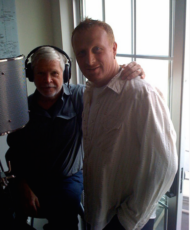 Mollura with Dr. Robert Romanyshyn in recording studio on Antarctica.png