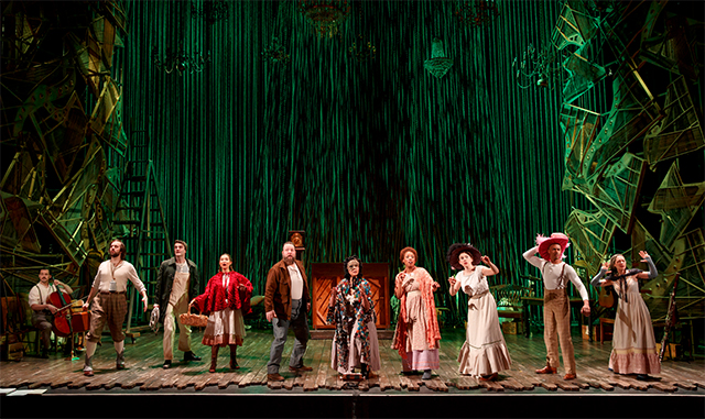 The company of 'Into the Woods.' Photo: Joan Marcus