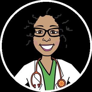 Dr. Yami, Cartoon