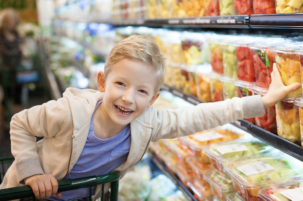 Involving Kids in Shopping and Cooking