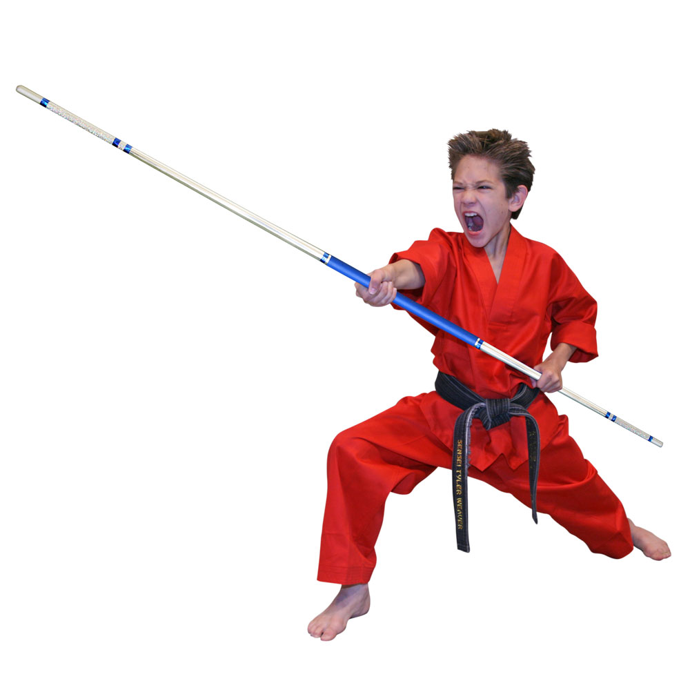 Bo Class - Ages: 6+, Blue Belt +Classes Saturdays @ 11am - 12 pmPunch Card membership $50 - 10 lessons