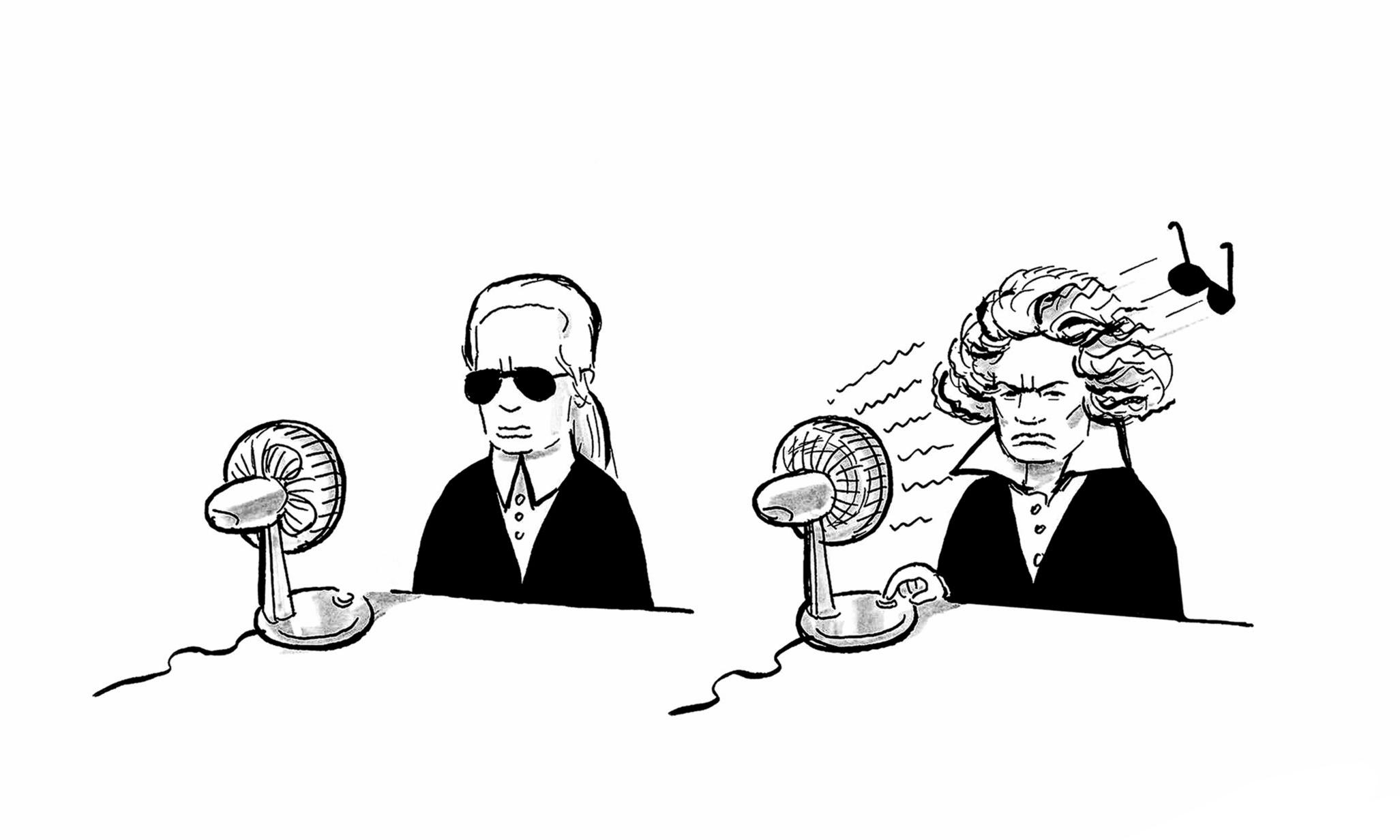 Karl Lagerfeld / Beethoven