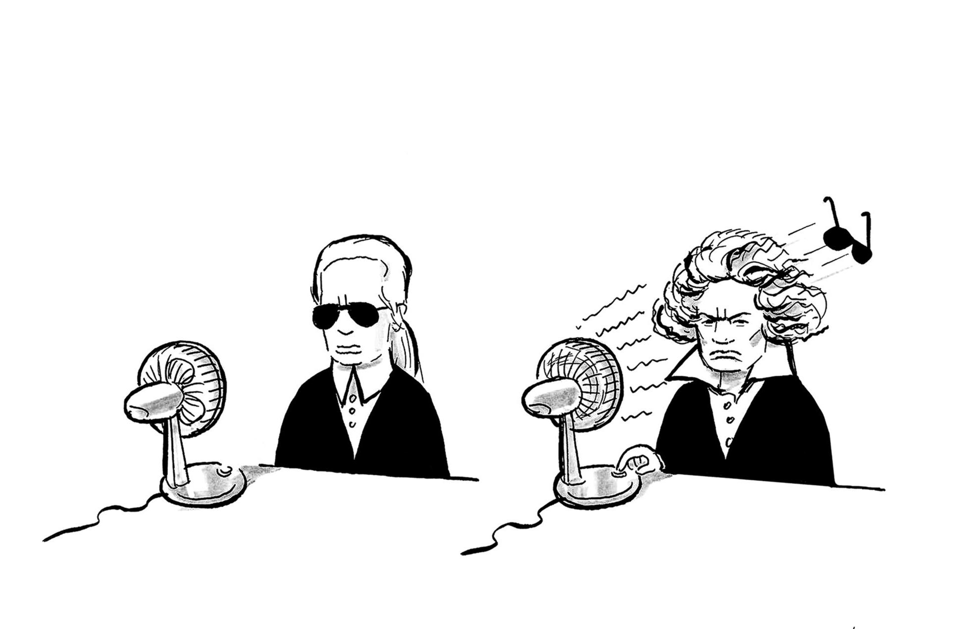 Karl Lagerfeld/Beethoven