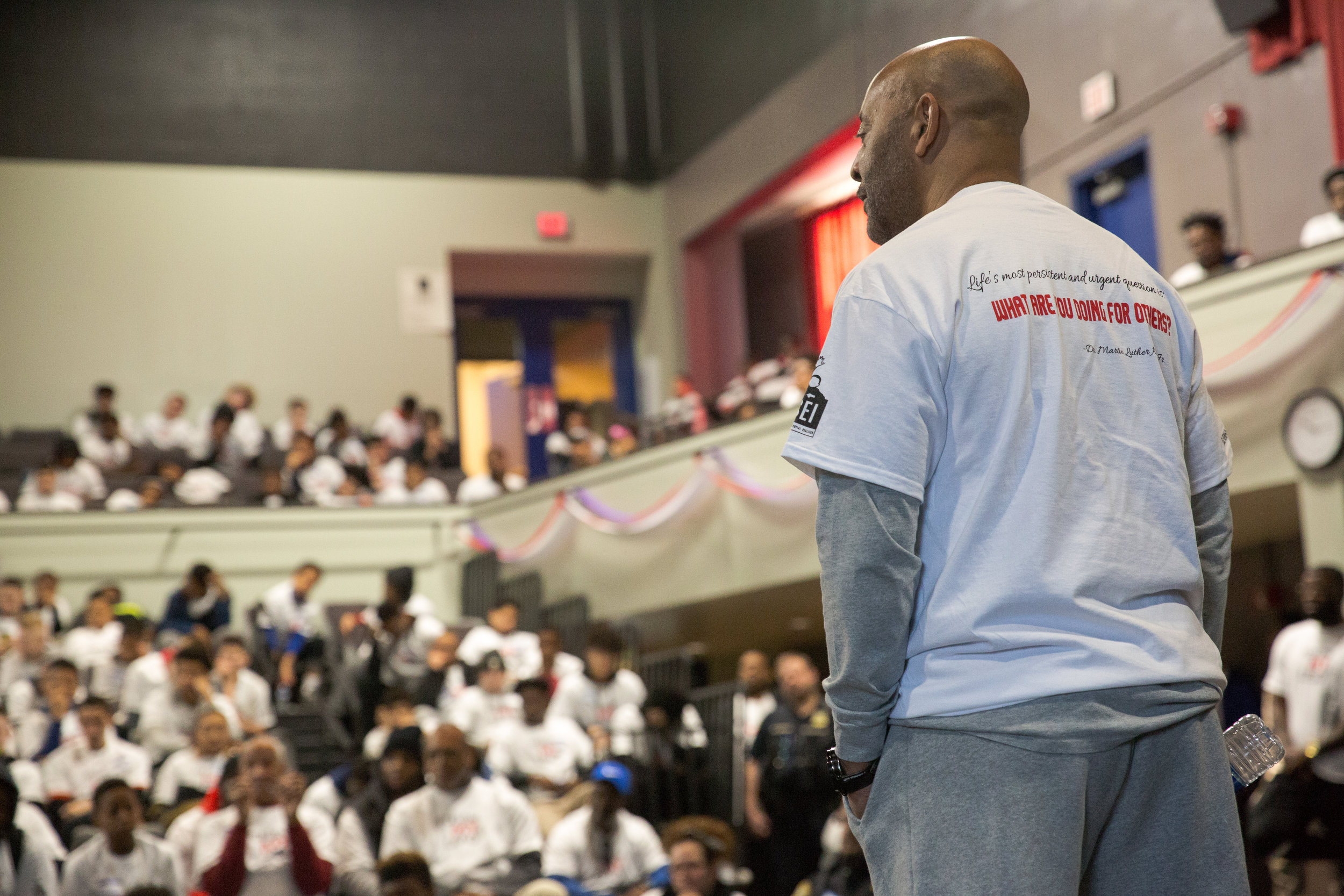 Tony Hopson Sr. Speaks at 2017 Day of Service