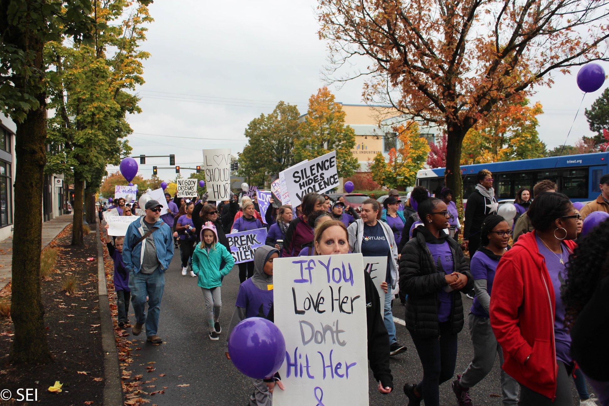 The Purple Mile Walk 2018