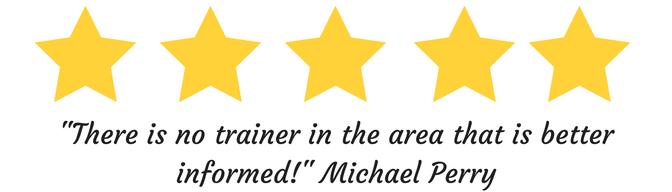 5 star review dog training eugene oregon