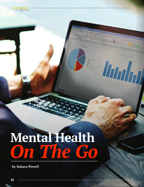 A snapshot of my article in Mental Health California Magazine. Click the image to read the full article!