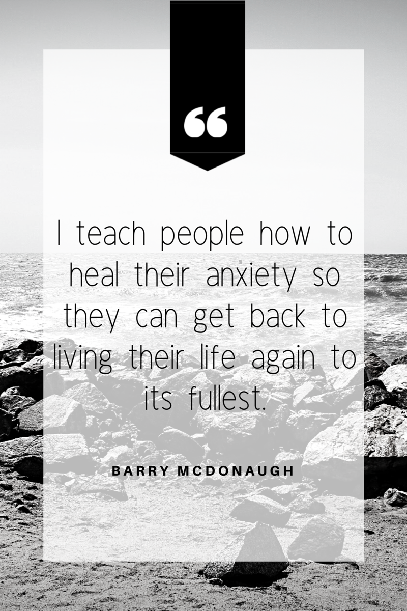 Barry McDonagh Quote
