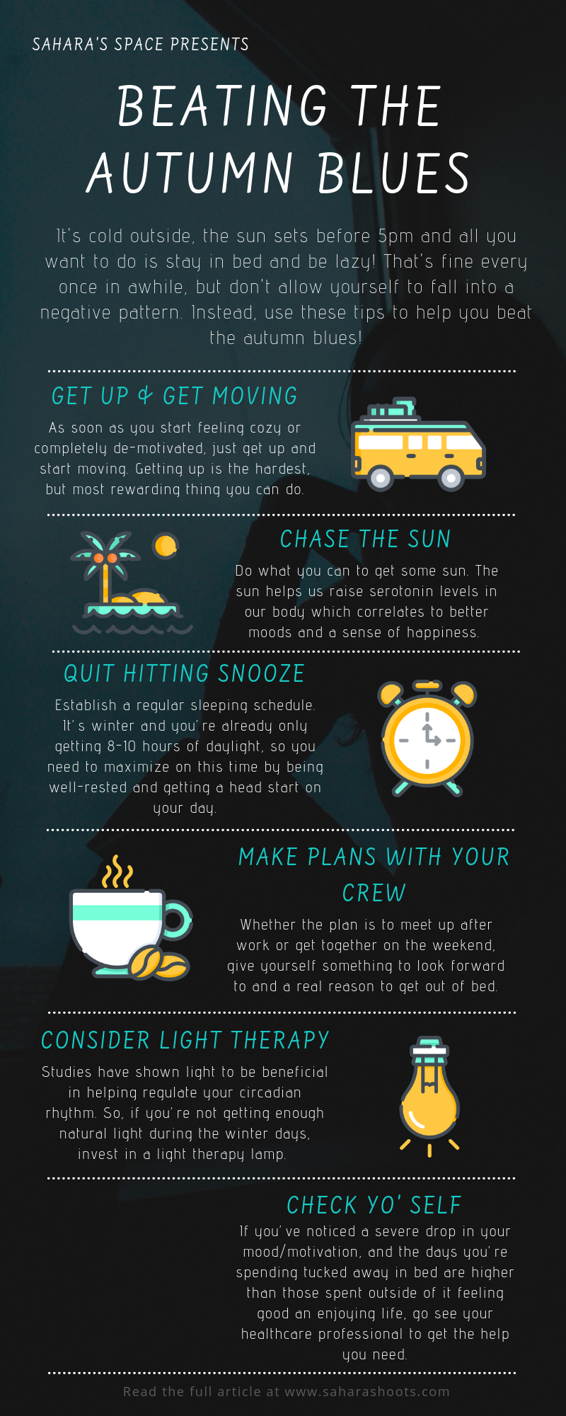 Beating Autumn Blues Infographic