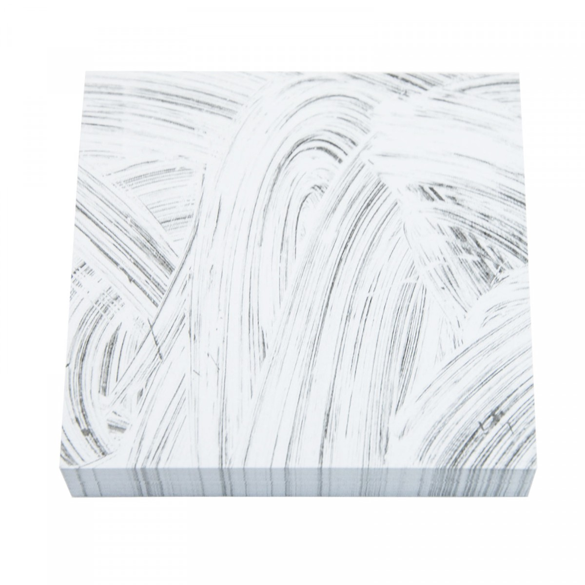 Grey Brush Sticky Notes