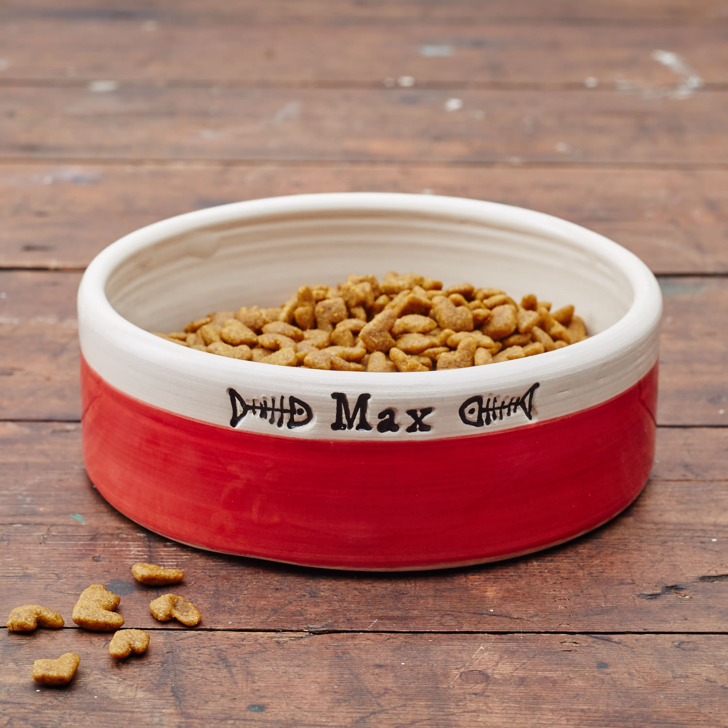 Personalised Cat Bowl, £23.99 by Chow Bella