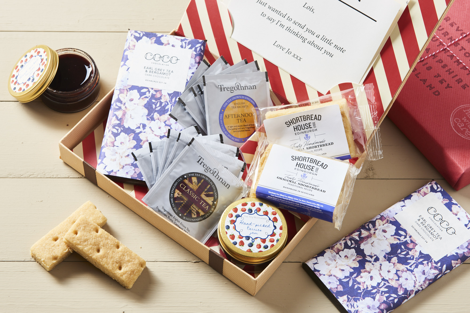 Afternoon Tea Letterbox Hamper by Letter Box Hamper - £24.95