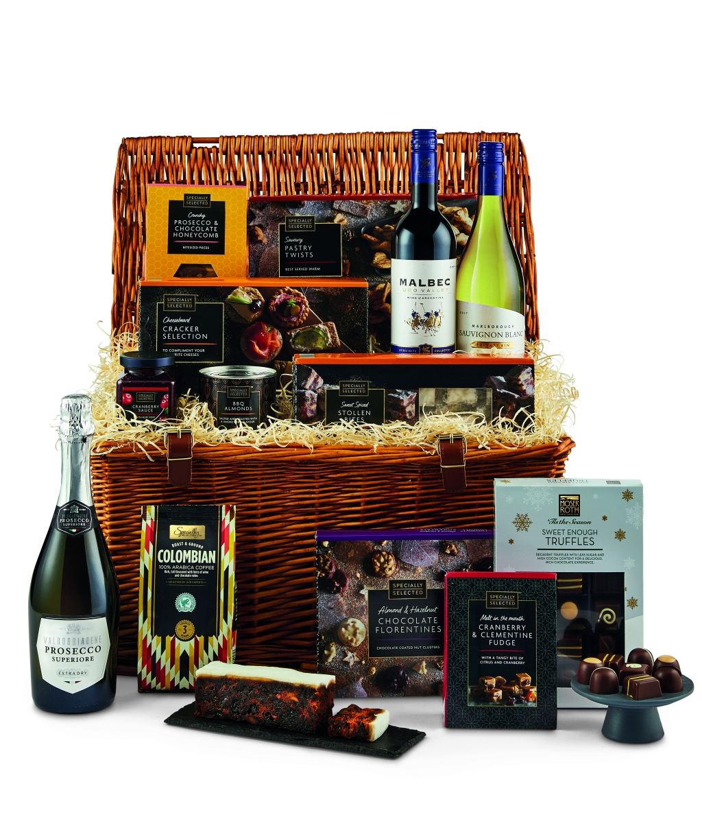 The Specially Selected Luxury Hamper (£59.99)