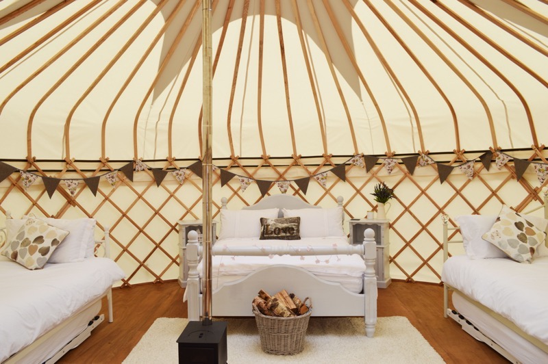 Country Bumpkin Yurts, Great Oxendon