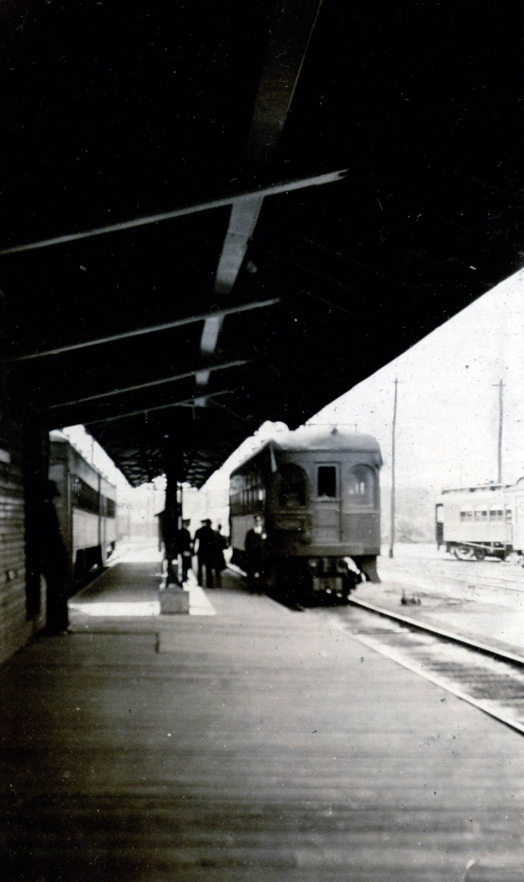 Bladen Street Station. Annapolis, Maryland Date: 1935. Source: John W. Barriger III National Railroad Library.