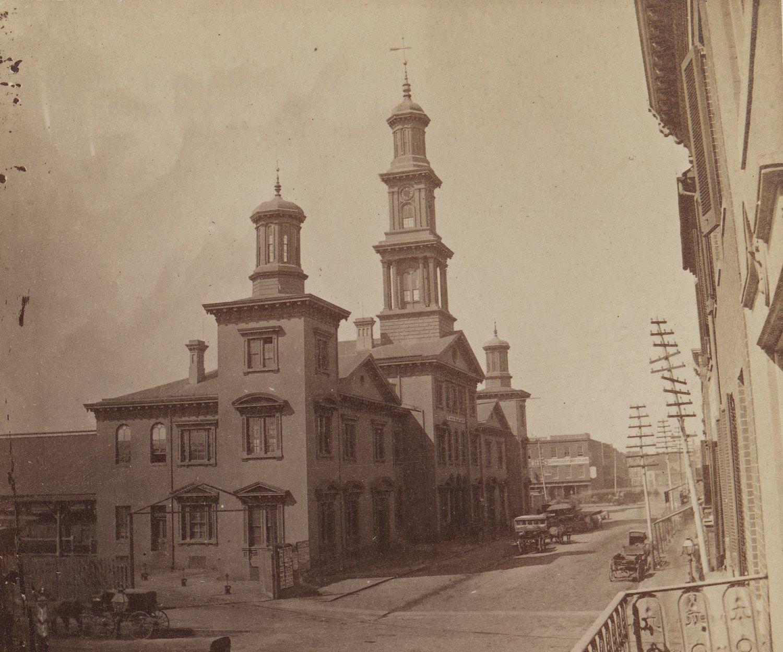 Camden Station Baltimore, Maryland. Date: 1872. Source: Cushings & Balley.