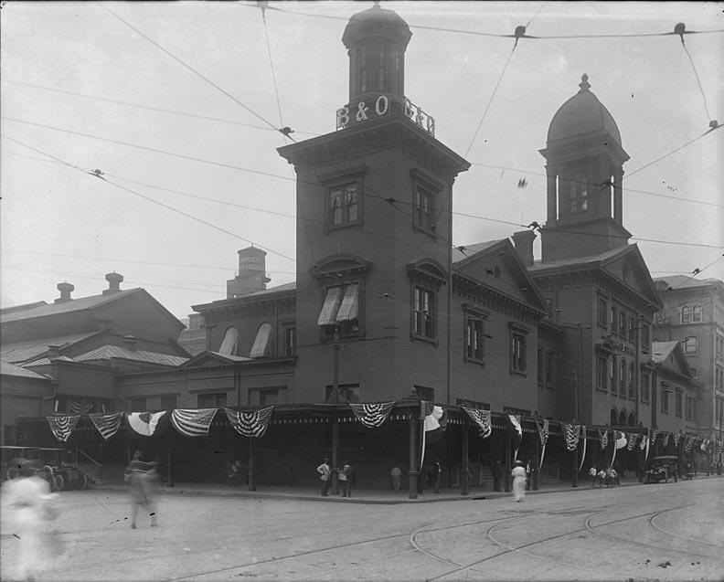 Camden Station Baltimore, Maryland Date: Unknown. Source: Unknown.