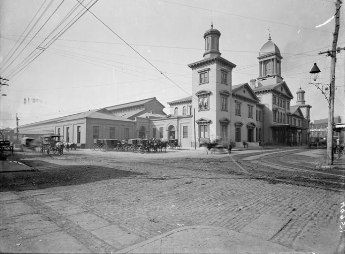 Camden Station Baltimore, Maryland. Date: 1860s Source: Unknown.
