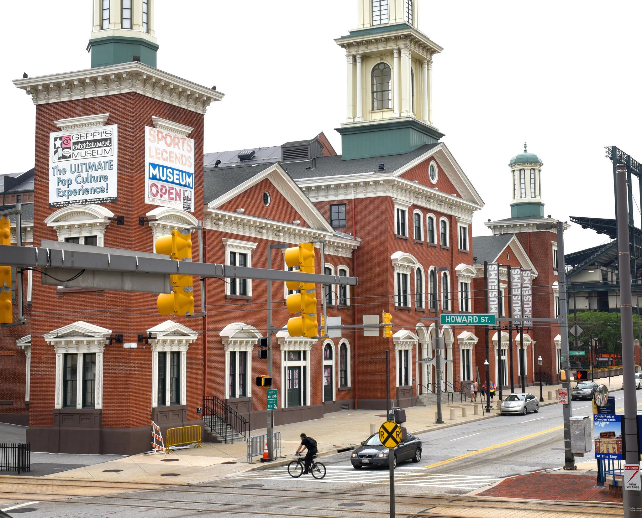 Camden Station Baltimore, Maryland Date: 2015. Source: Unknown.