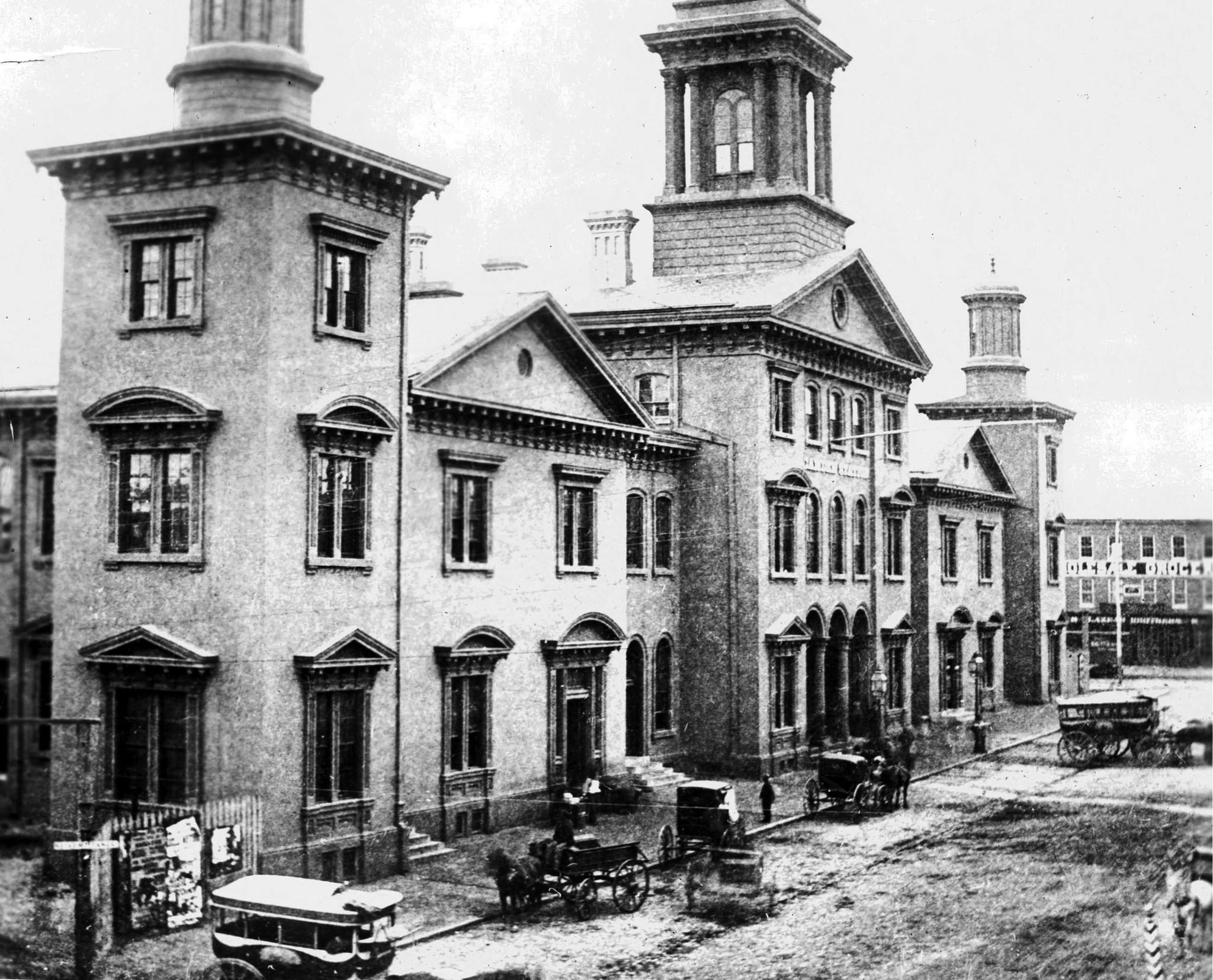 Camden Station Baltimore, Maryland Date: 1868. Source: Unknown.