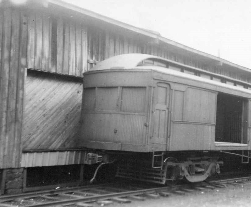 Baltimore & Annapolis Railroad Freight Car at Bladen Street Station. Annapolis, Maryland Date: Unknown. Source: Unknown.