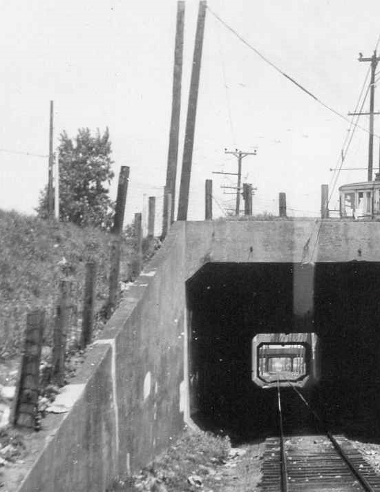 Baltimore & Annapolis Railroad, Westport Tunnels. Date: Unknown. Source: Unknown.