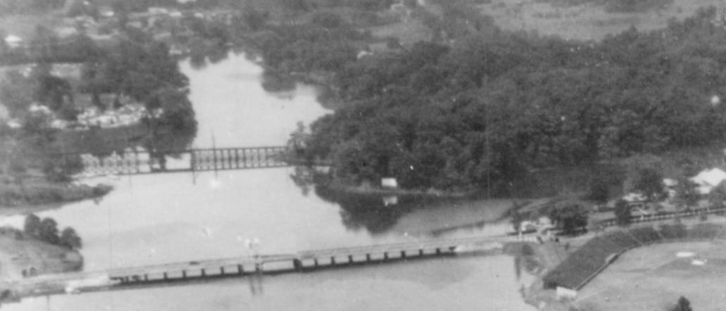 Baltimore & Annapolis Railroad, College Creek Bridge. Annapolis, Maryland Date: Circa 1930s. Source: Maryland State Archives.