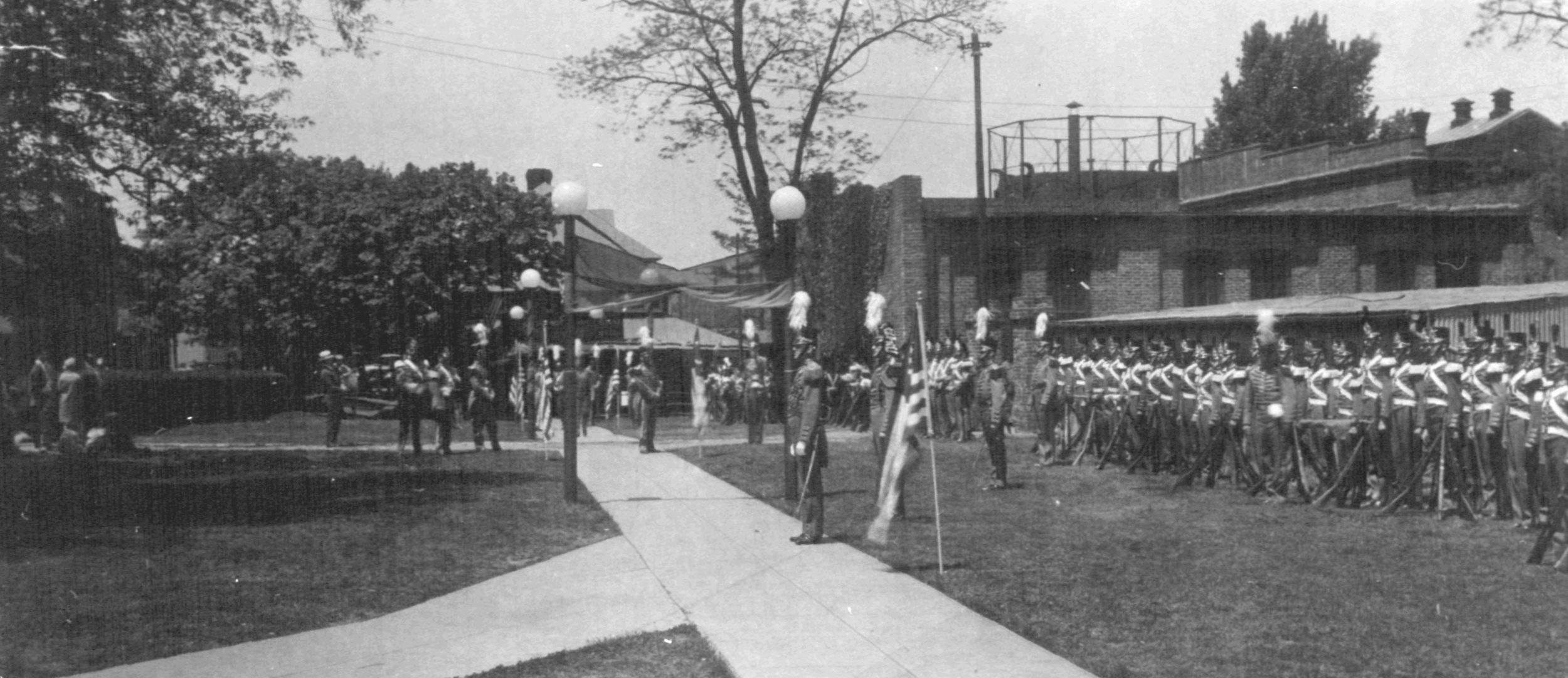 Colonial Day festivities outside Bladen Street Station. Annapolis, Maryland Date: May 15, 1928. Source: Maryland State Archives.