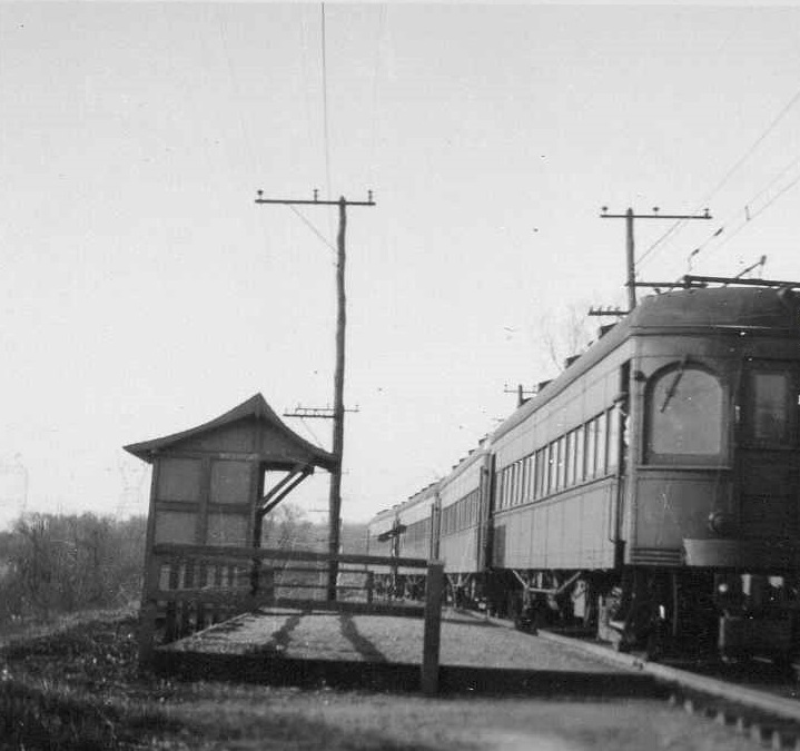 Baltimore & Annapolis Railroad Cars at Westport Station. Date: 4/3/1946. Source: Unknown.