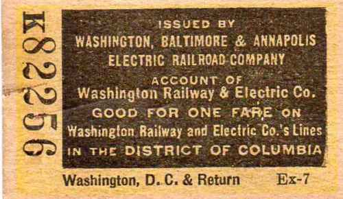 Washington, Baltimore & Annapolis Railroad