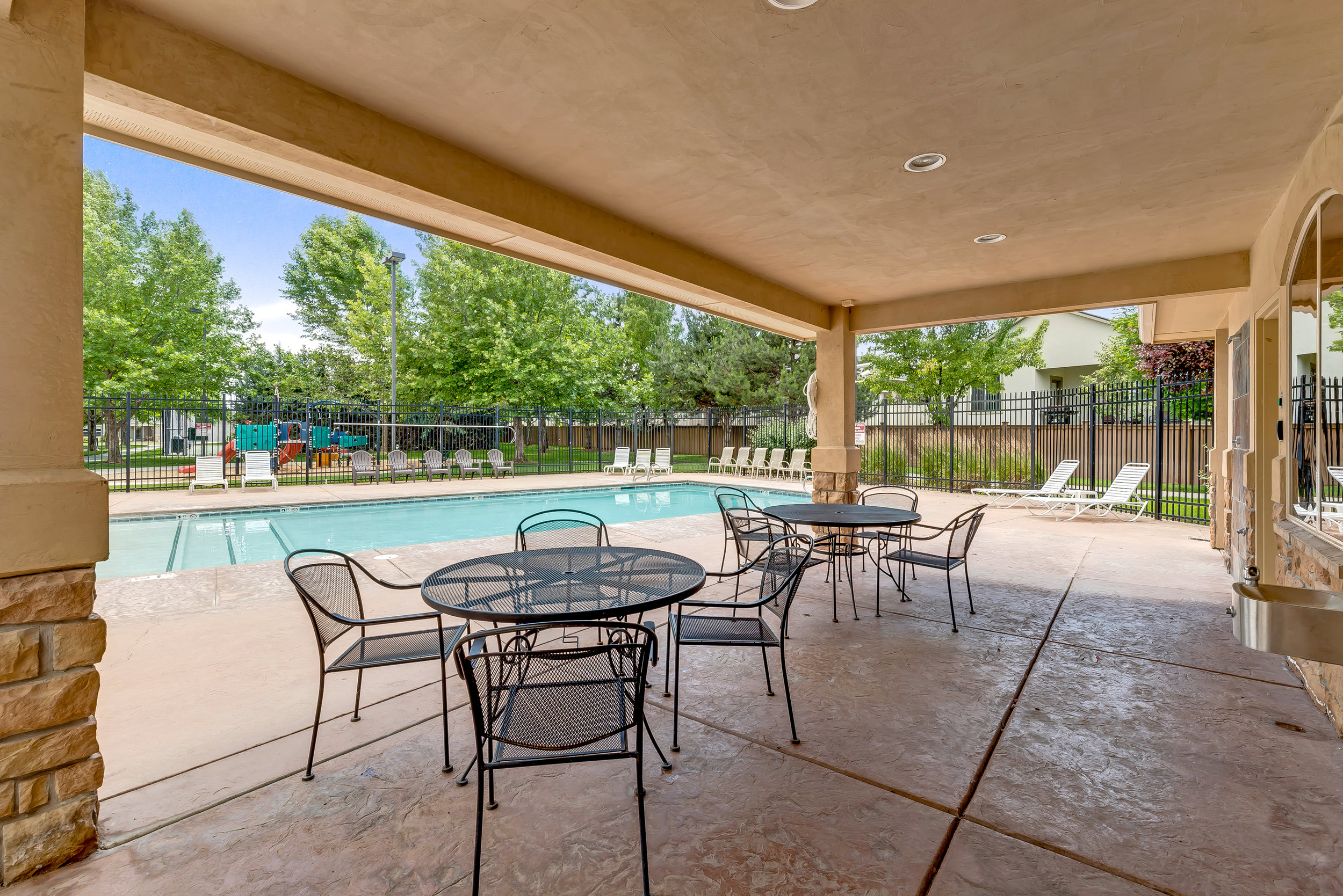 Community Pool Patio