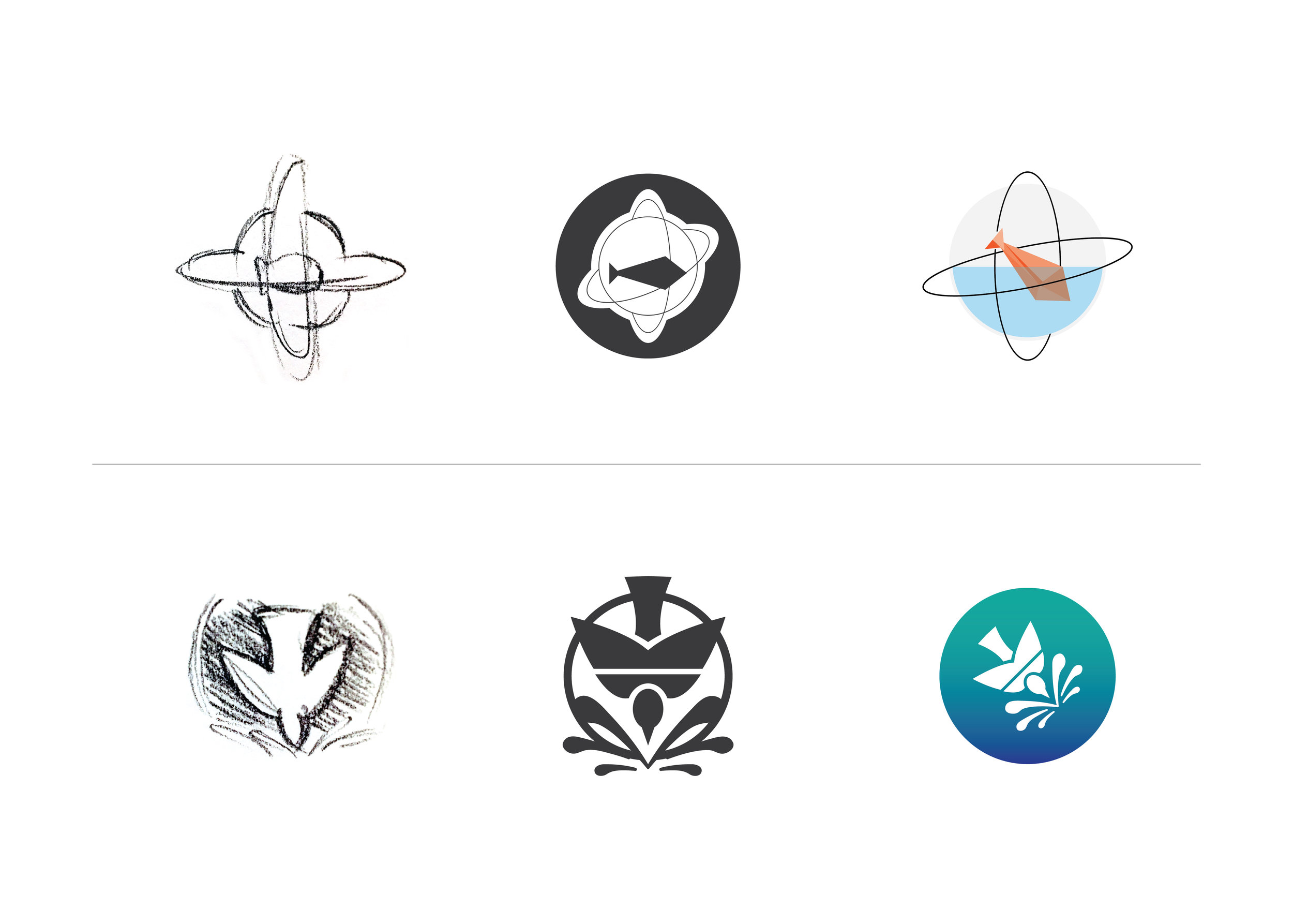 Logo Mark Iterations