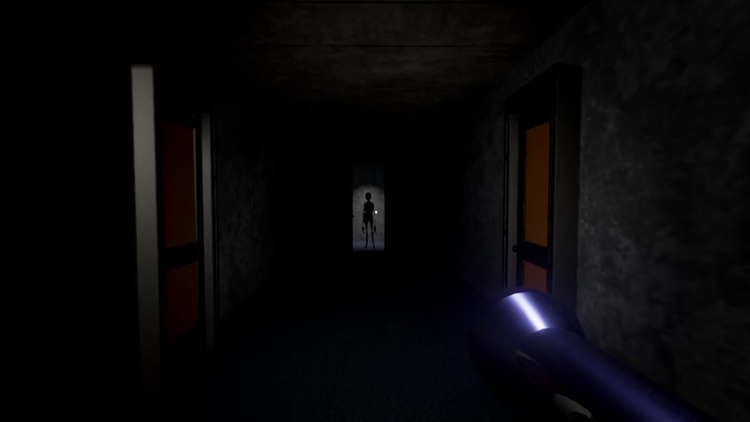 The beginning of a short horror game set in the UT dorms.