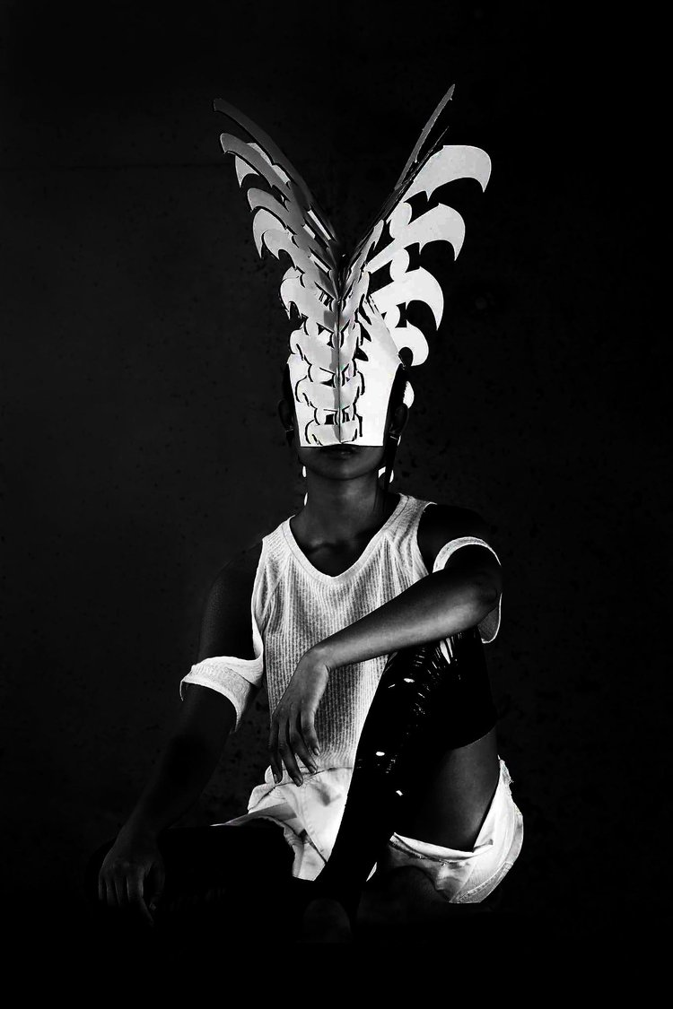 Anna Kariel Laser Cut Headress