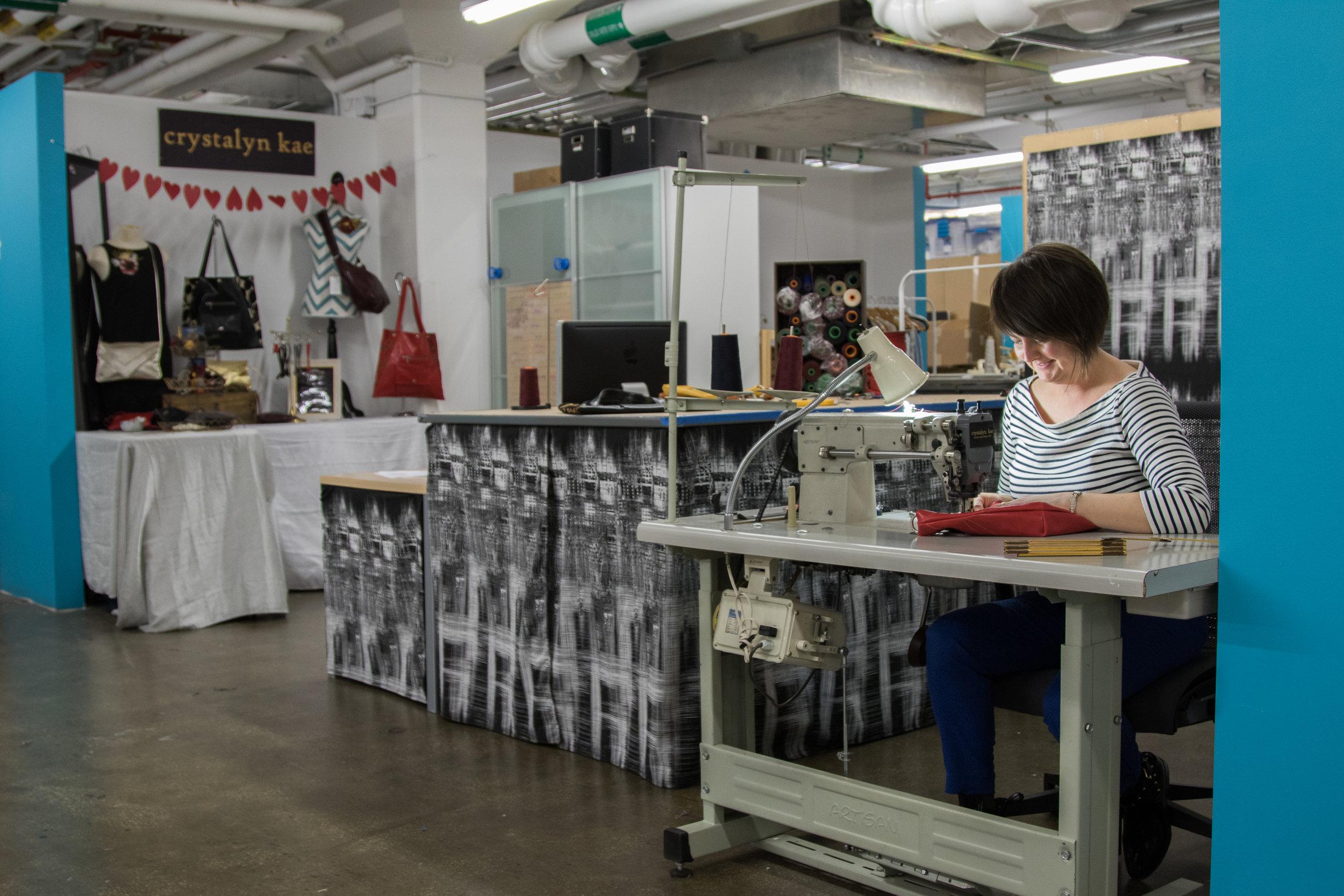 Behind the Scenes at Crystalyn Kae Accessories Studio